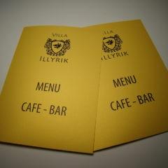 Папки меню для ресторанов и кафе