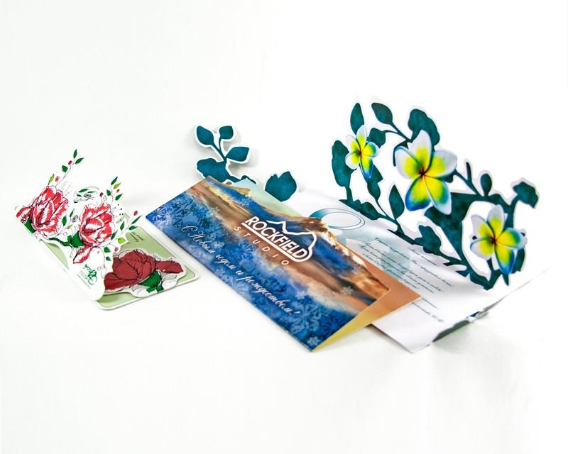 Формат открытки полиграфия