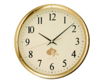 Часы для гостиницы круглые / Пластик / УФ-печать