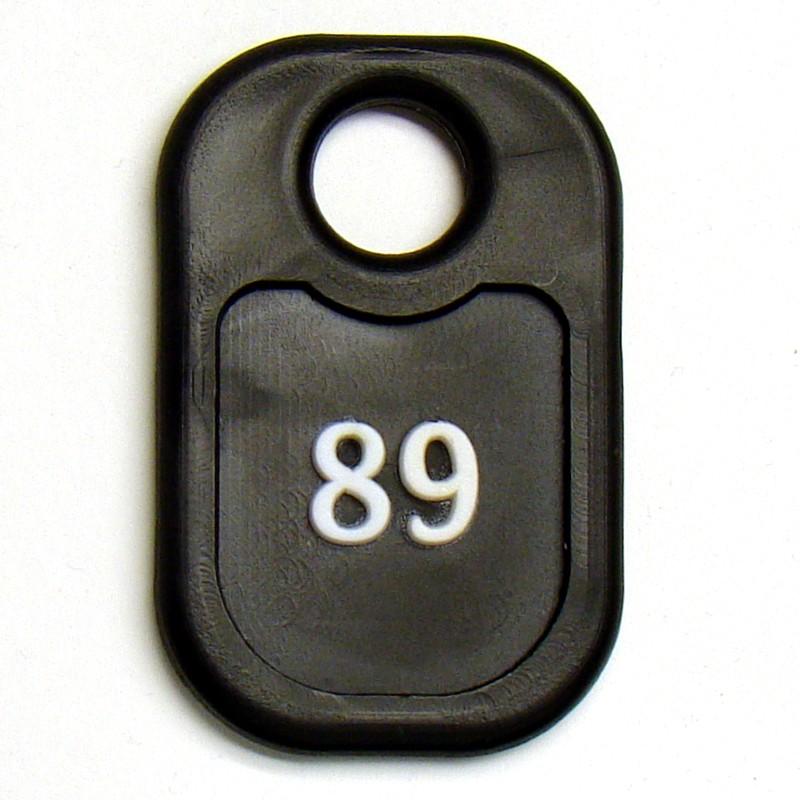 Прямоугольная бирка для ключей в гостиниц